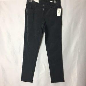 Dark gray/charcoal colored corduroy pants